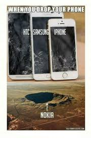 when you drop your phone htc samsung iphone nokia via funnystatus