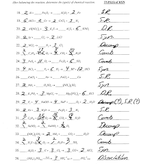 balancing equations and reaction types worksheet answers switchconf
