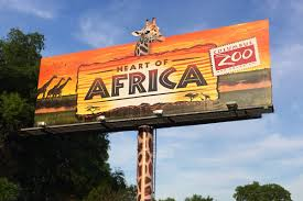 lexus vehicle recognition digital billboards columbus zoo and aquarium heart of africa billboard creativity