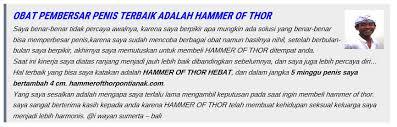 jual hammer of thor di pontianak 085319333396 hammer of thor