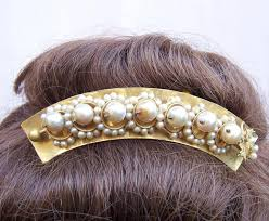 pearl hair accessories hinged pearl hair comb hair accessory the comb