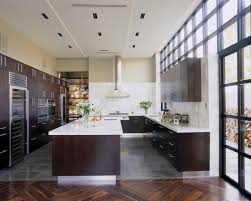 glamorous espresso cabinets vogue calgary contemporary kitchen