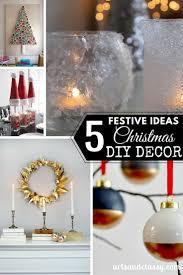 5 festive ideas of diy christmas decor arts and classy