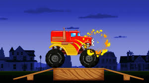 monster truck game video monster truck kids game video youtube