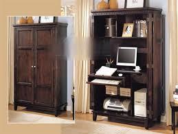armoire computer armoire desk cabinet s corner cabinets wood