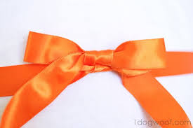 tie ribbon how to tie a beautiful ribbon bow one dog woof