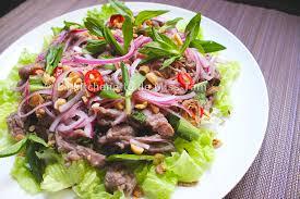 recettes de cuisine vietnamienne bò tái chanh recette vietnamienne de boeuf cru au citron la