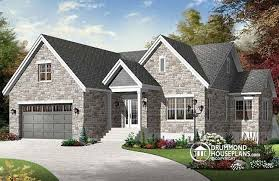 Transitional Style House House Plan W3260 V2 Detail From Drummondhouseplans Com
