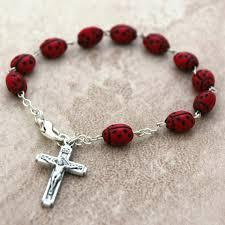 rosary bracelet bug rosary bracelet leaflet missal