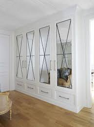 Mirrored Closet Doors Closets With Mirrored Doors Entrance Foyer