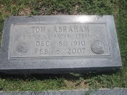 grave marker file tom abraham grave marker canadian tx img 6101 jpg wikimedia