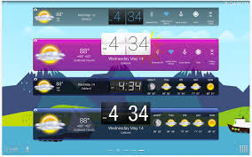 featured 10 weather widget apps for android