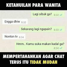Meme Chat - 10 meme susahnya chatting dengan gebetan ini lucu banget