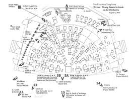 orchestra floor plan sf symphony
