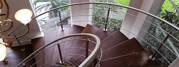 Metal Stair Banister Stainless Steel Stair Parts Modern Stair Railing Components