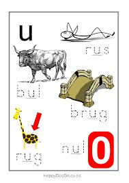 leer alfabet afrikaans b free printables pinterest