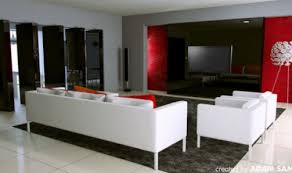 red and black home decor dadka modern home decor and space saving furniture for small