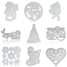 details about christmas tree metal cutting dies stencil hand craft