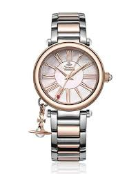 metal bracelet watches images Vivienne westwood women 39 s quartz watch with mother of pearl dial jpg