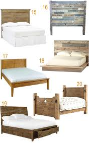 Reclaimed Wood Bed Frame Get The Look 20 Rustic Reclaimed Wood Beds Stylecarrot