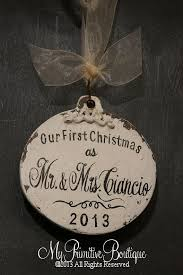 First Christmas Personalized Ornaments - 25 unique our first christmas ornament ideas on pinterest diy