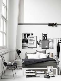 deco chambre lit noir deco lit noir salon et blanc ideas 2017 avec deco chambre style