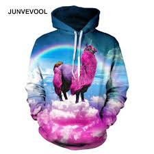 alpaca 3d hoodies men autumn fitness tracksuit hoodie 3d sale