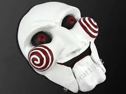 Saw Mask Resin Saw Jigsaw Puppet Billy Puppet Mask Prop Clown Ebay