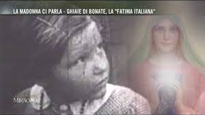 santuario ghiaie di bonate la strada dei miracoli la fatima italiana clip mediaset
