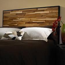 Cool Wood Headboards by Cool King Size Wooden Headboard Diy King Sized Pallet Wood