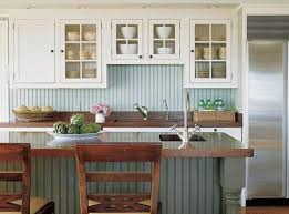 country kitchen backsplash cottage style kitchens cottage kitchen beadboard backsplash easy