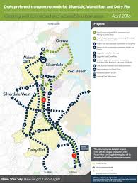 Draft Central Coast Regional Transport Strategy Draft Preferred Future Urban Networks Greater Auckland