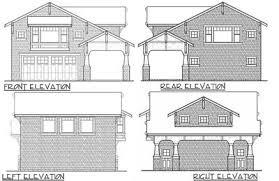 Craftsman Garage With Apartment Plan Craftsman Garage Apartment 23484jd Architectural Designs