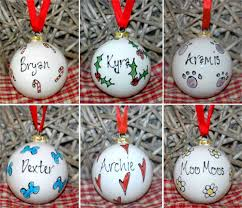 tree decorations personalised rainforest islands ferry