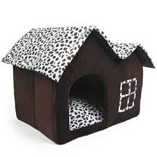 Doghouse For Large Dogs 2017 Detachable Double Roofs Pet Dog House Indoor Winter Warm Cat