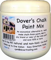 dover u0027s chalk paint powder mix 1 pound inexpensively transforms