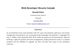 Sample Php Developer Resume by Web Developer Resume Sample 3 638 Jpg Cb U003d1458109047