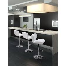 cushioned bar stool zuo formula adjustable height black cushioned bar stool 300216