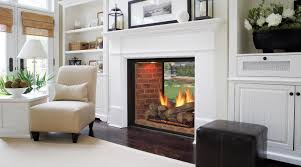 White Electric Fireplace With Bookcase by Marquis See Thru Directvent Gas Fireplaces Majestic Products For