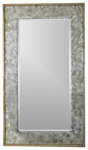 Uttermost Mirrors Free Shipping Uttermost Leron Mirror Distressed Dark Bronze Silver