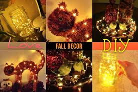 Fall Homemade Decorations - quick u0026 easy fall diy decorations youtube
