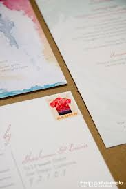 wedding invitations san diego custom watercolor wedding invitations by alfie design