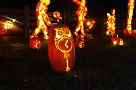 halloween pumpkin inferno at upper canada village tranquil dreams