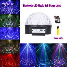 magic laser christmas lights bluetooth crystal magic ball led stage l modes disco laser light