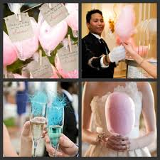 cotton candy wedding favor weddings are a wedding as sweet as cotton candy