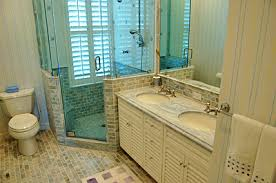 Small Bathrooms With Corner Showers Kitchen U0026 Baths Tom Scott Interior Contractors Patricia Scott