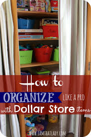 how to organize cheap