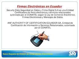 lista blanca sri ecuador servicio de rentas internas y el comercio electrónico en el ecuador