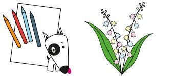 Coloriage n°20  fête le 1er Mai  La Table des Enfants