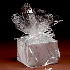 transparent wrapping paper painted gift wrap for the holidays make and takes clear cello